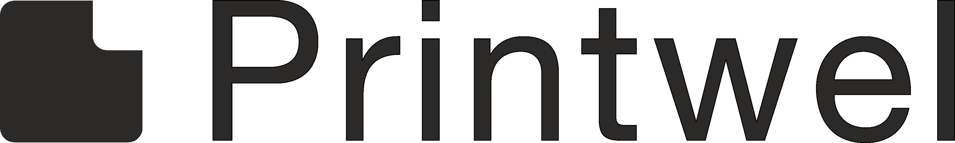 printwel logo black